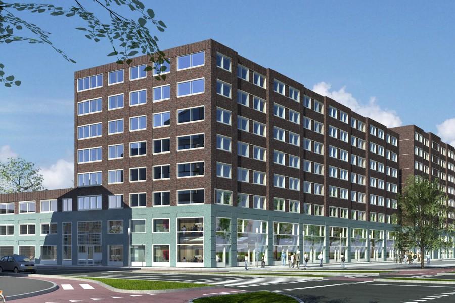 Leiden, Nieuw LEyden, appartementen, zorgcluster en woningen
