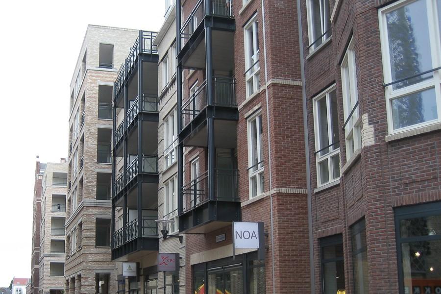 Vleuterweide, winkelcentrum, woningen en appartementen