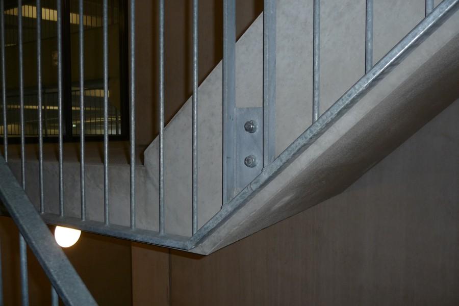 Deelgemeente IJsselmonde, stadskantoor, trapdetail